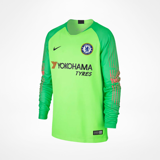 29be9c2c7f6f3 Chelsea Home GK Jersey Junior 2018/19 - SupportersPlace