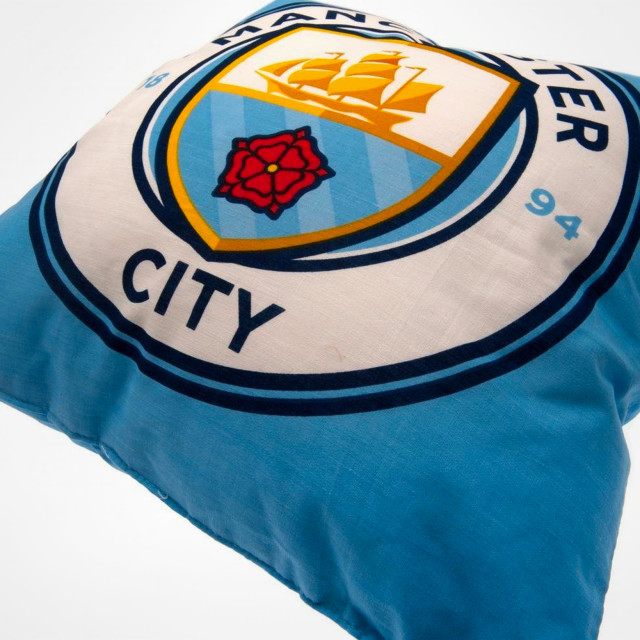 6783cb58757 Manchester City Crest Cushion - SupportersPlace