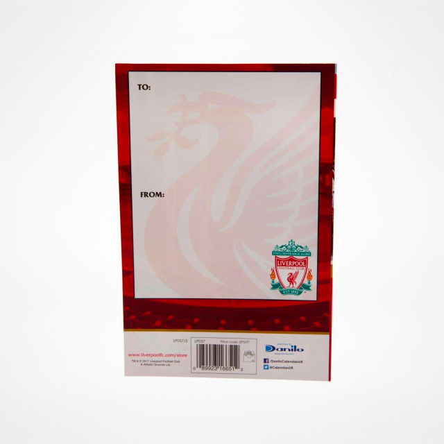 Liverpool Anfield Pop Up Birthday Card At Sam Dodds