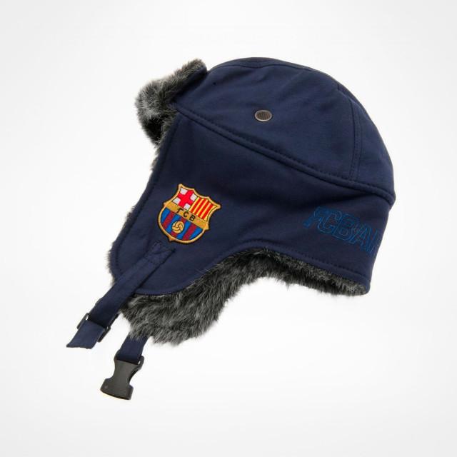 dd28f62def7b8 FC Barcelona Trapper Hat - SupportersPlace