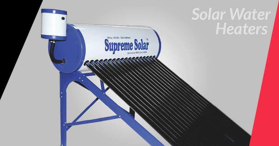 ETC Solar Water Heaters Manufacturers in Bengaluru,Karnataka