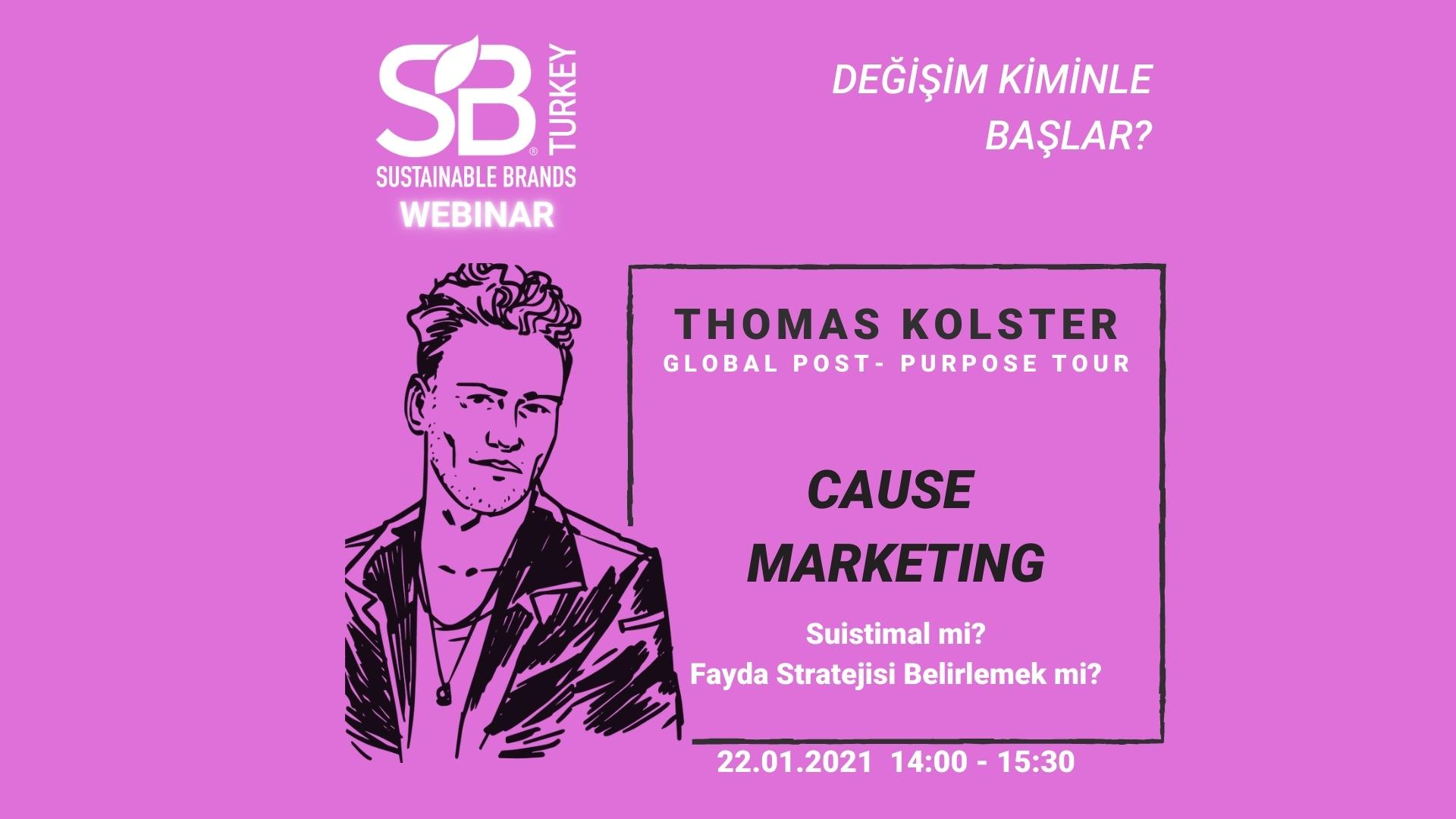 Thomas Kolster Global Post-Purpose Tour: Cause Marketing