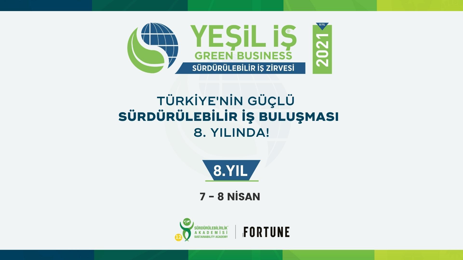 Yeşil İş: Sürdürülebilir İş Zirvesi 2021