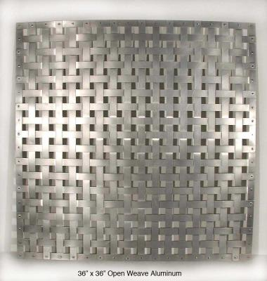 Open Weave Aluminum