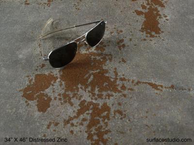 Distressed Zinc