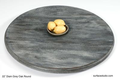 Grey Oak Round