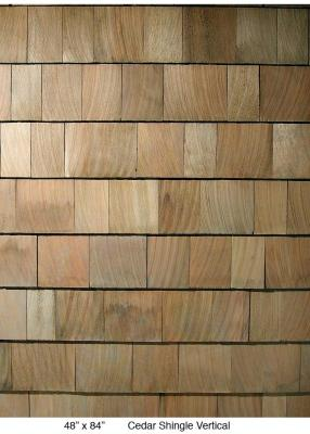 Cedar Shingle Vertical