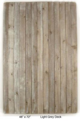 "Light Grey Pine Deck (3 ½"" Planks) (60 lbs.)"