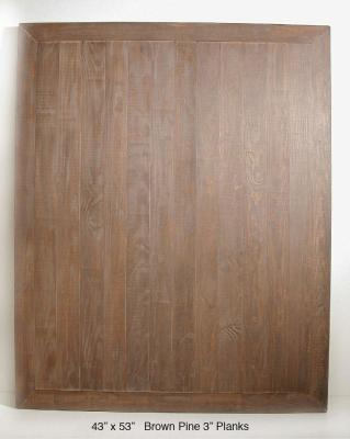 "Brown Pine (3"" Planks)"