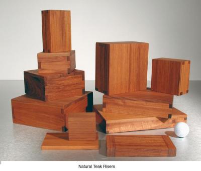 Natural Teak Risers (11) $20 - $55