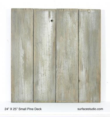 "Small Pine Deck (6"" Planks)"