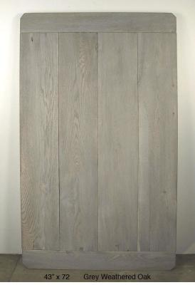 "Grey Weathered Oak (10 ½"" Planks) (75 LBS)"