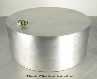 Brushed Aluminum Round (20 LBS)