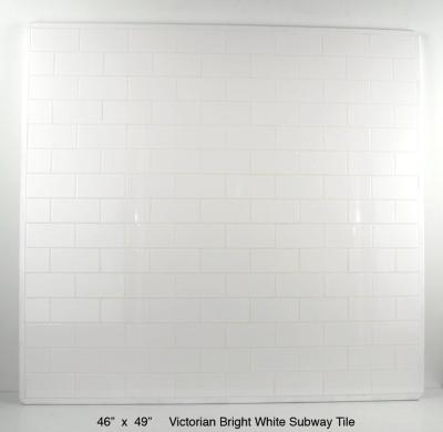 Victorian Bright White Subway Tile - 2 available (75 lbs) ~ $310 each
