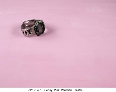 Peony Pink Venetian Plaster