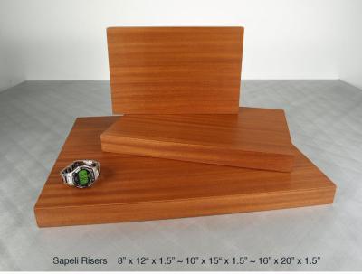 Sapeli Risers (3) $55 - $85