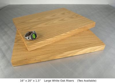 Large White Oak Risers Two available ~ $85 each