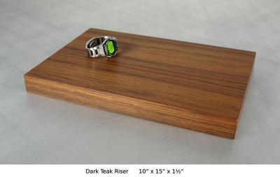 Dark Teak Riser