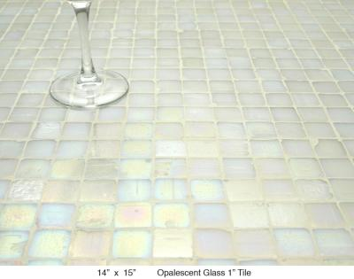 "Opalescent Glass 1"" Tile"