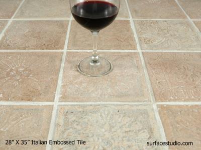 Italian Embossed Tile (40 lbs)