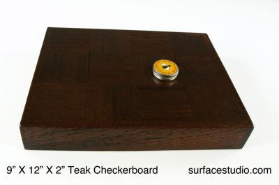 Teak Checkerboard