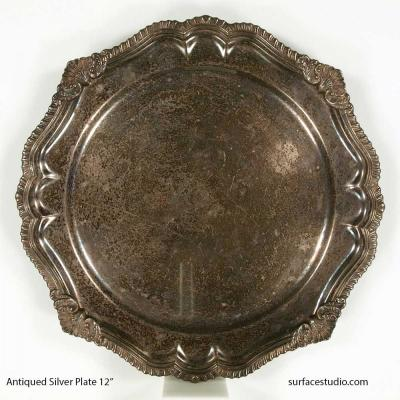 Antiqued Silver Plate