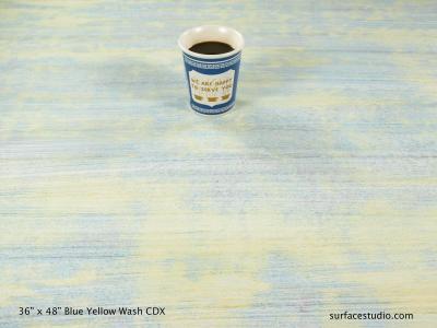 Blue Yellow Wash CDX