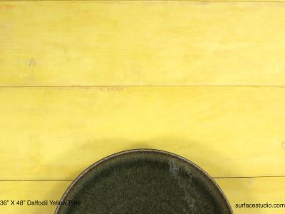 "Daffodil Yellow Pine (5.5"" Planks)"