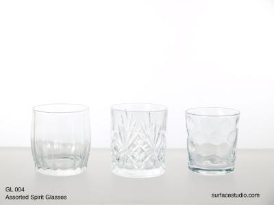 GL 004 Assorted Spirit Glasses $5 per item