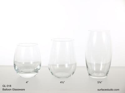 GL 018 Balloon Glassware $5 per item