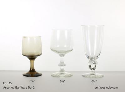 GL 027 Assorted Barware Set Two $5 per item