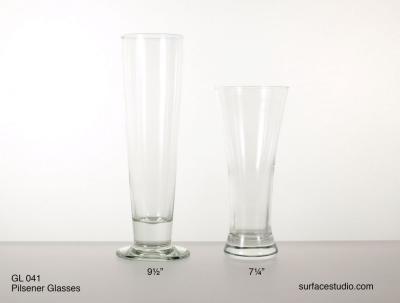 GL 041 Pilsener Glasses $5 per item
