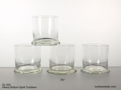 GL 052 Heavy Bottom Spirit Tumblers $5 per item