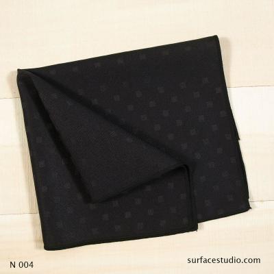 N 004 Black Solid Napkin