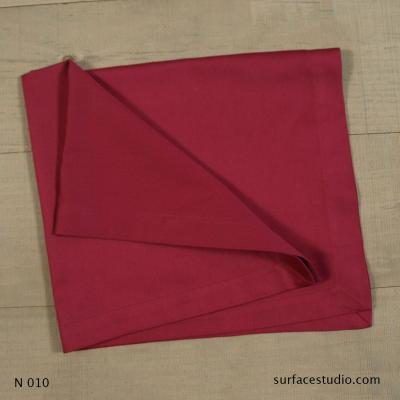 N 010 Red Purple Solid Napkin