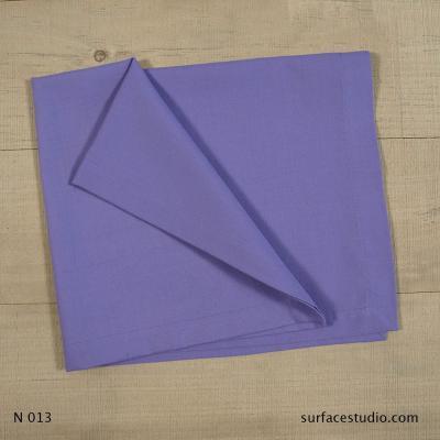 N 013 Purple Solid Napkin