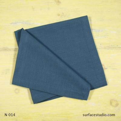 N 014 Blue Solid Napkin
