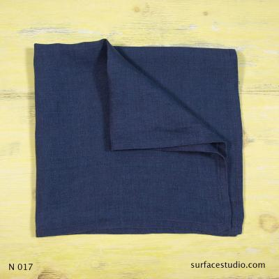 N 017 Blue Solid Napkin