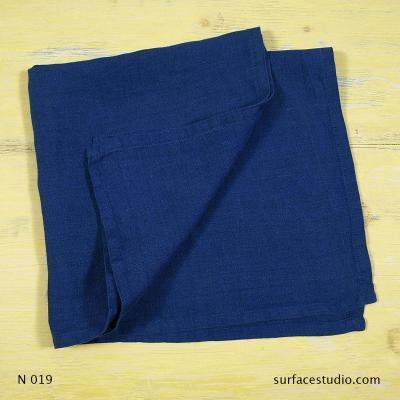 N 019 Blue Solid Napkin
