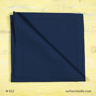 N 022 Blue Solid Napkin