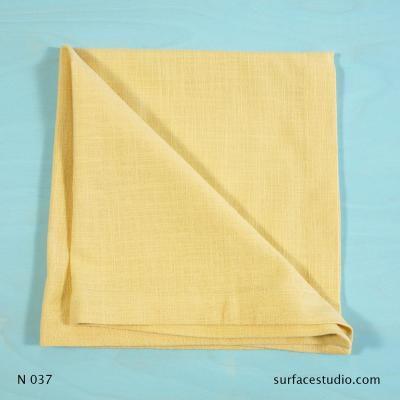 N 037 Light Yellow Solid Napkin