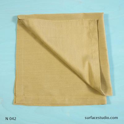 N 042 Yellow Solid Napkin