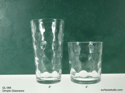 GL 066 Dimple Glassware $5 per item