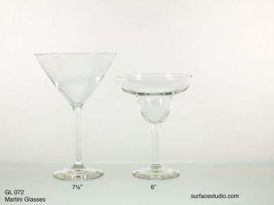 GL 072 Martini Glasses $5 per item