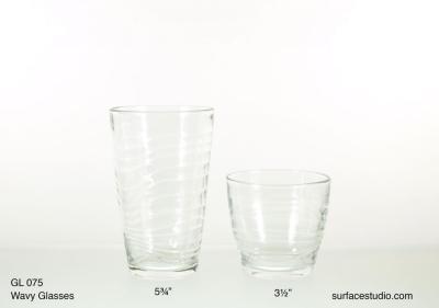GL 075 Wavy Glasses $5 per item