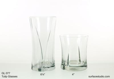 GL 077 Tulip Glasses $5 per item