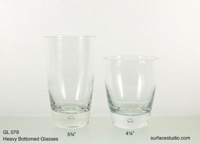 GL 079 Heavy Bottomed Glasses $5 per item