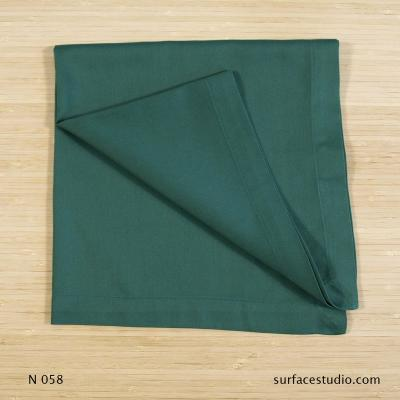 N 058 Loden Green Solid Napkin