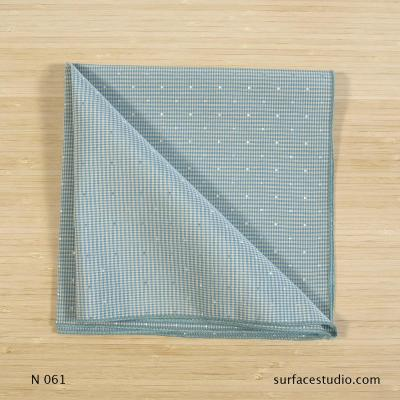 N 061 Blue Checkered Napkin