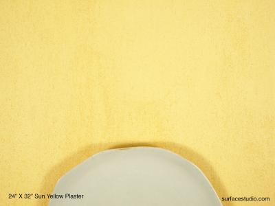 Sun Yellow Plaster